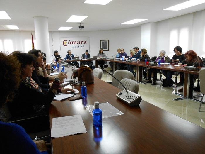 El Pacto Local por el Empleo de Ciudad Real se reúne en la Cámara de Comercio