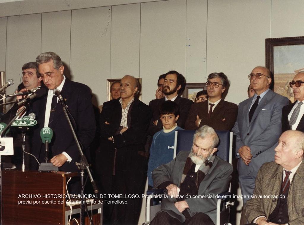 Pedro Carrasco, foto del archivo histórico municipal de Tomelloso