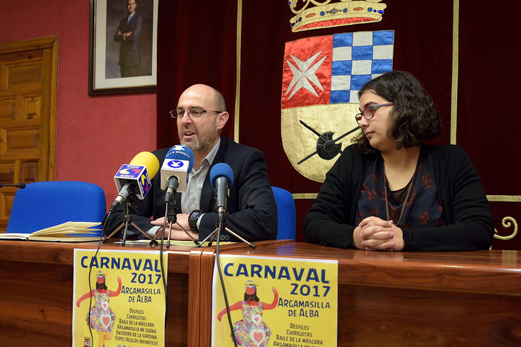 Todo preparado en Argamasilla de Alba para la celebración del Carnaval 2017