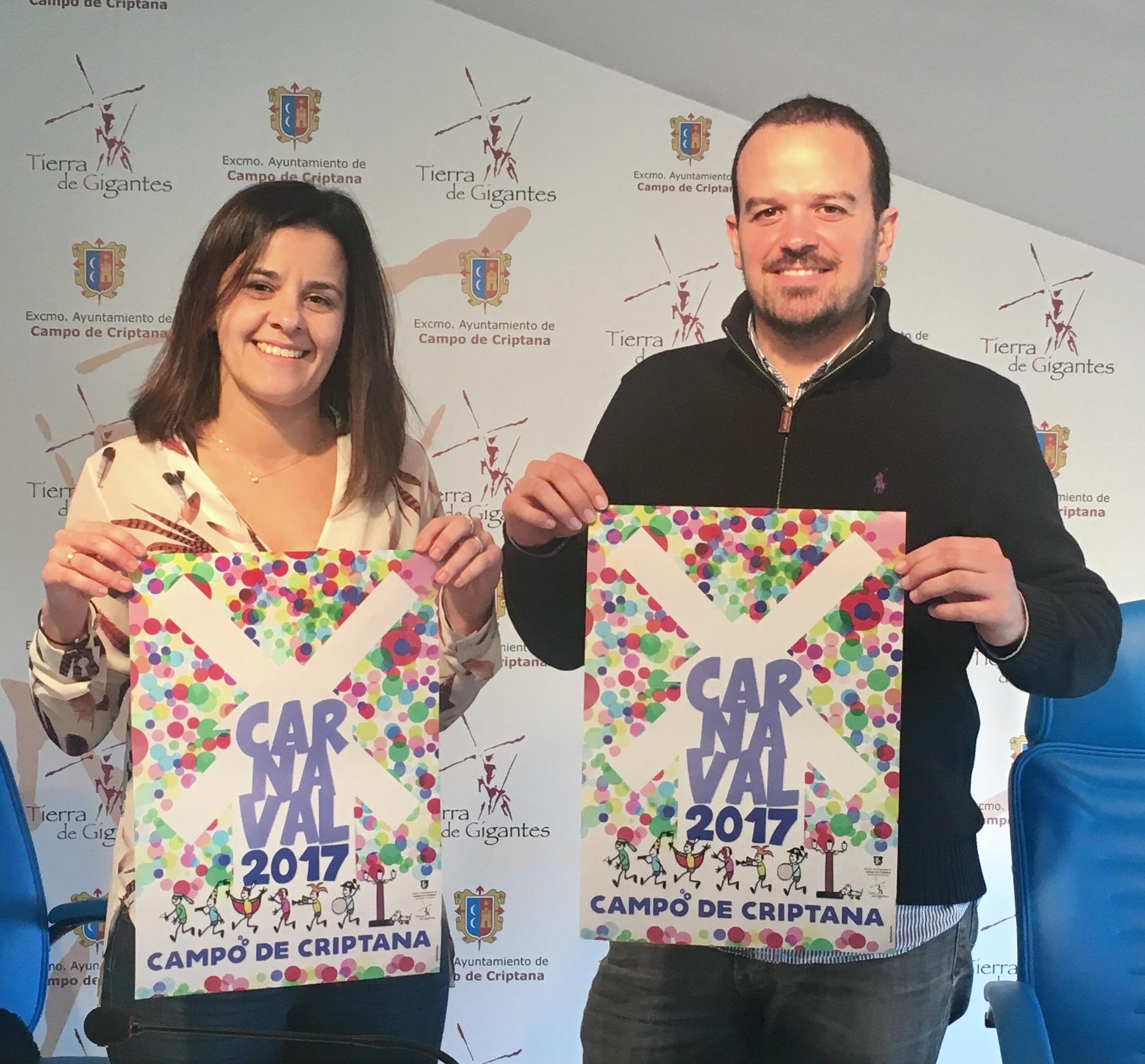 Ana Medina presenta la programación del Carnaval 2017 de Campo de Criptana
