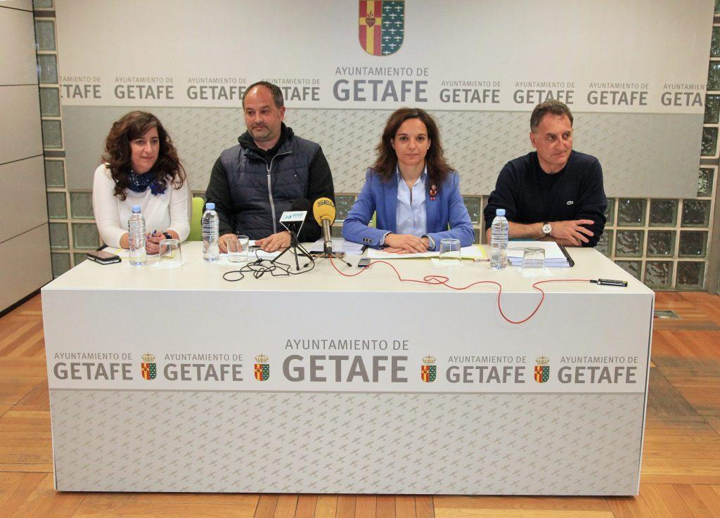 El Gobierno Municipal de Getafe presenta el nuevo borrador de Presupuestos 2017 con las aportaciones de CCOO y UGT