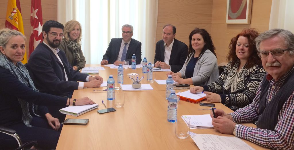 Getafe y Leganés alcanzan el compromiso de la Comunidad de Madrid para reducir la lista de valoración de personas dependientes