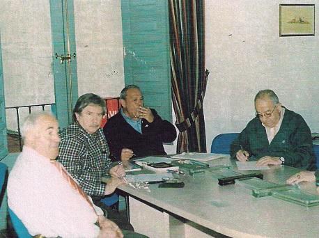Reunión del patronato en 1999