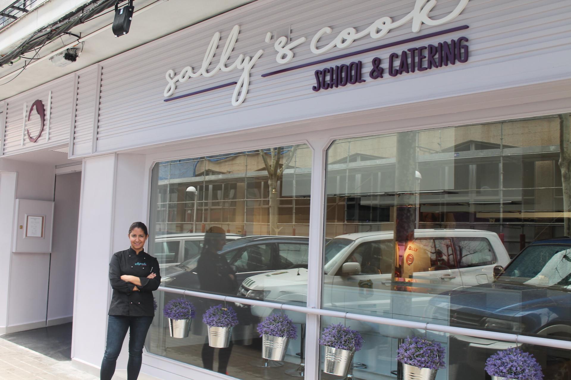 Sally subcampeona de la tercera edici n de masterchef for Curso cocina getafe