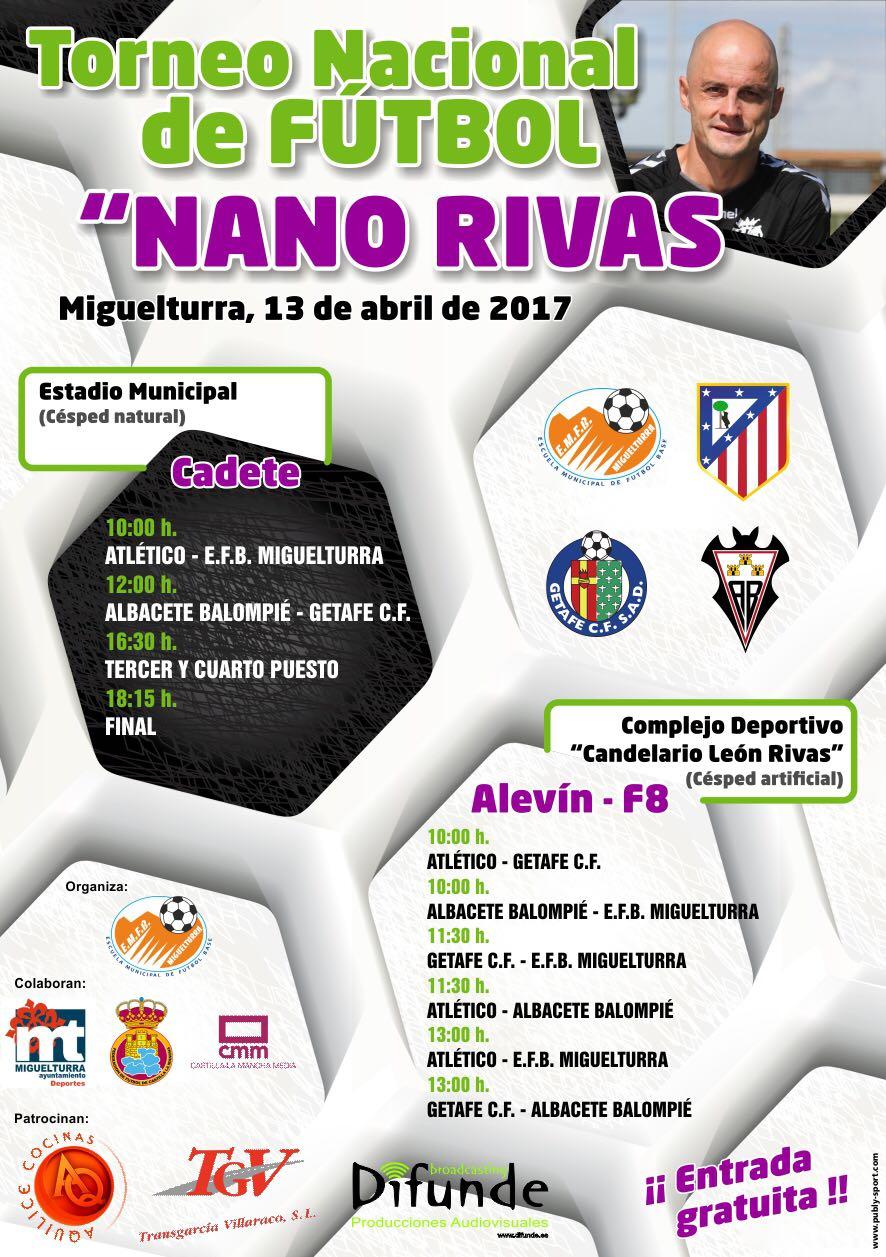 """Torneo Nacional de Fútbol """"Nano Rivas"""" de Miguelturra"""