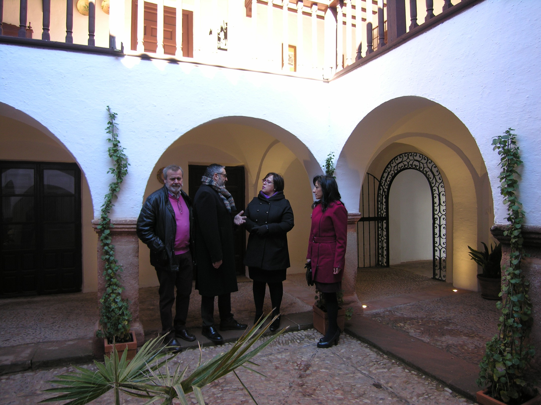 La Delegada de la Junta en Ciudad Real visita la Casa de los Estudios de Infantes