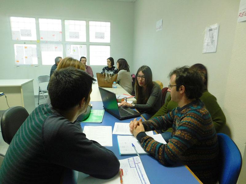 La Lanzadera de Empleo 2.0 de Miguelturra y realización de talleres sobre entrevistas de trabajo