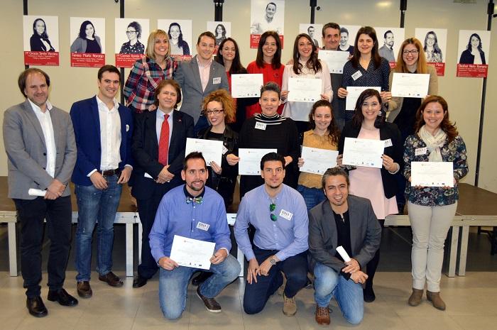 """La I Lanzadera de Empleo de Ciudad Real """"Lanza Real"""" finaliza su actividad"""