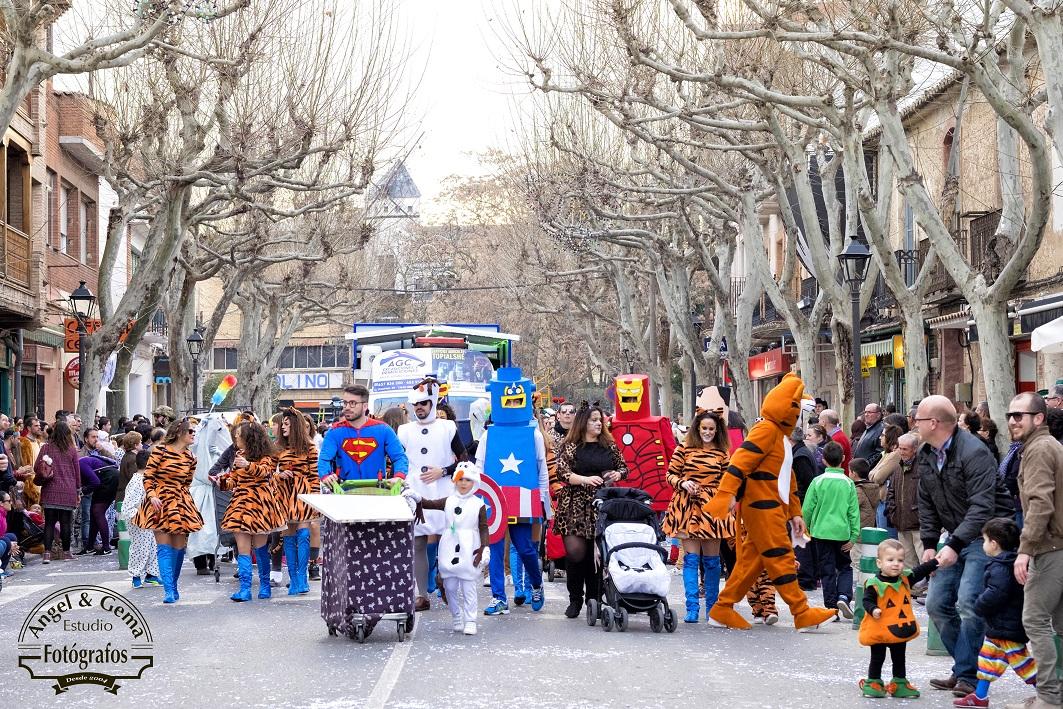 Carnaval de Herencia, domingo / Foto: Angel y Gema Fotografos de Boda