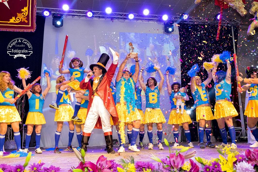 Inauguración Carnaval de Herencia. Foto: Estudio de Fotografía Ángel & Gema, de Herencia