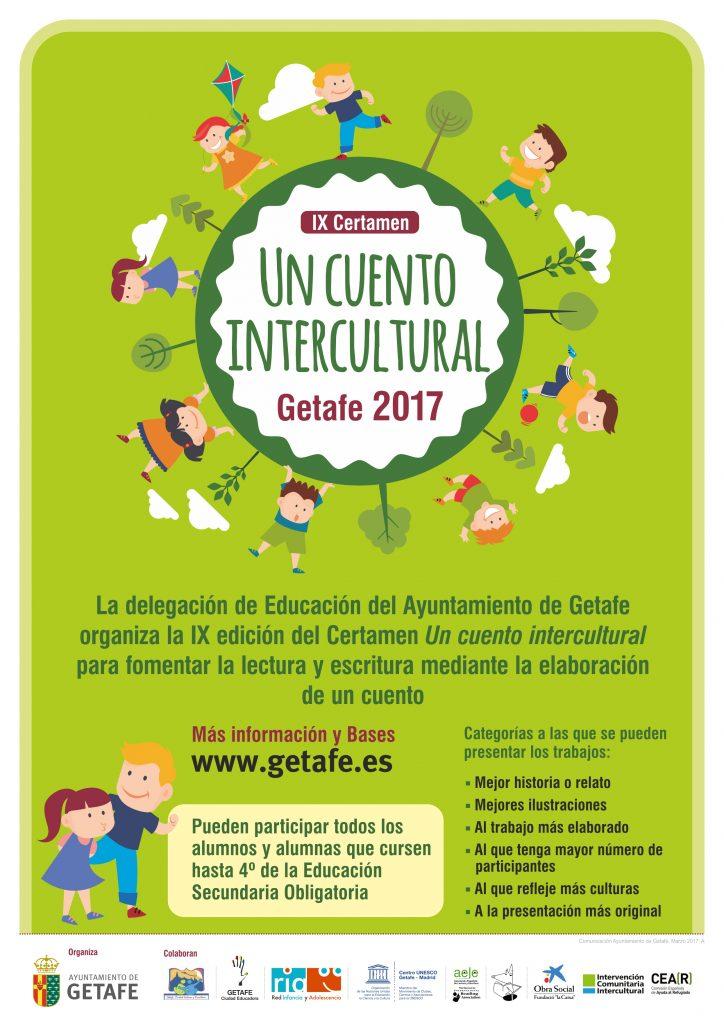 Getafe convoca el certamen 'Un cuento colectivo intercultural' para fomentar la lectura y la escritura en el alumnado
