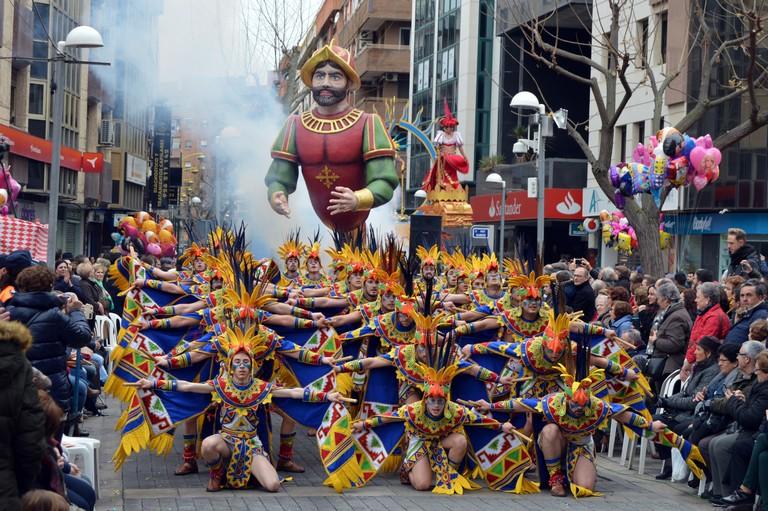 """""""El Burleta"""" vuelve a alzarse con el Arlequín de Oro del Desfile del Domingo de Piñata de Ciudad Real"""