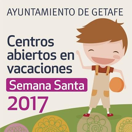 Getafe amplía a tres los centros abiertos en vacaciones de Semana Santa 2017 junto a la apertura de comedores escolares