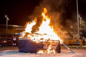 El fuego y las cenizas de la sardina despidieron los Carnavales de Getafe