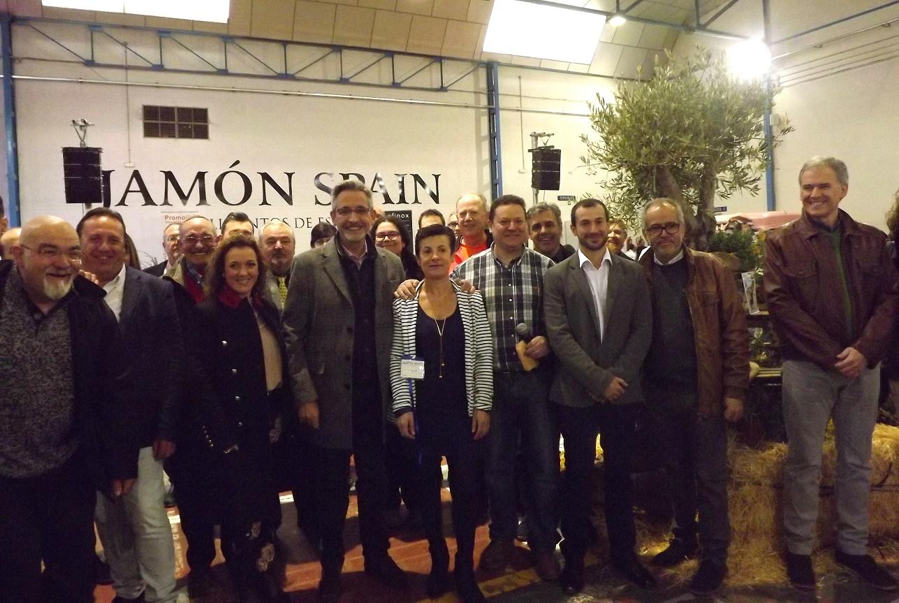 Valdepeñas acogió este fin de semana la I Feria Gastronómica Cultural Jamón Spain