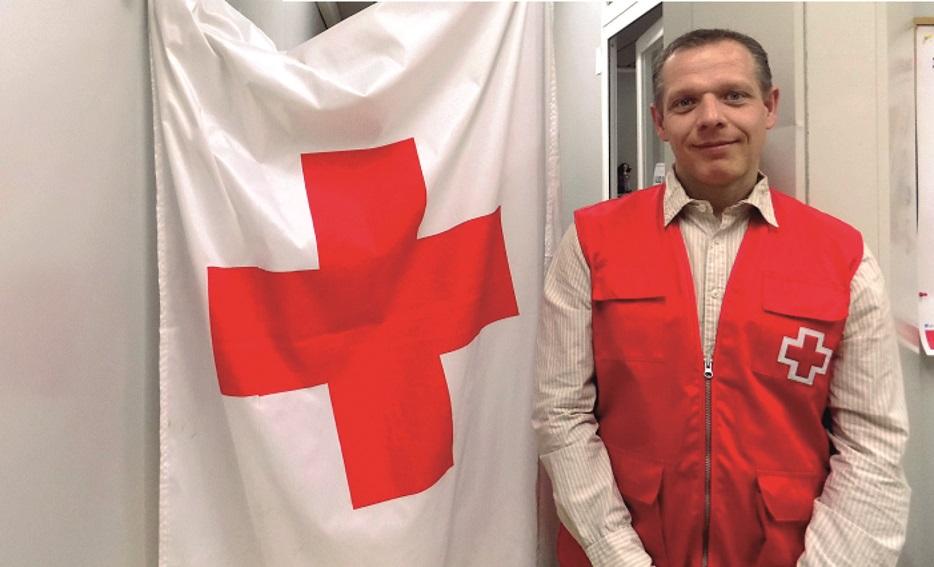 Fernando Saavedra. Presidente de Cruz Roja Getafe