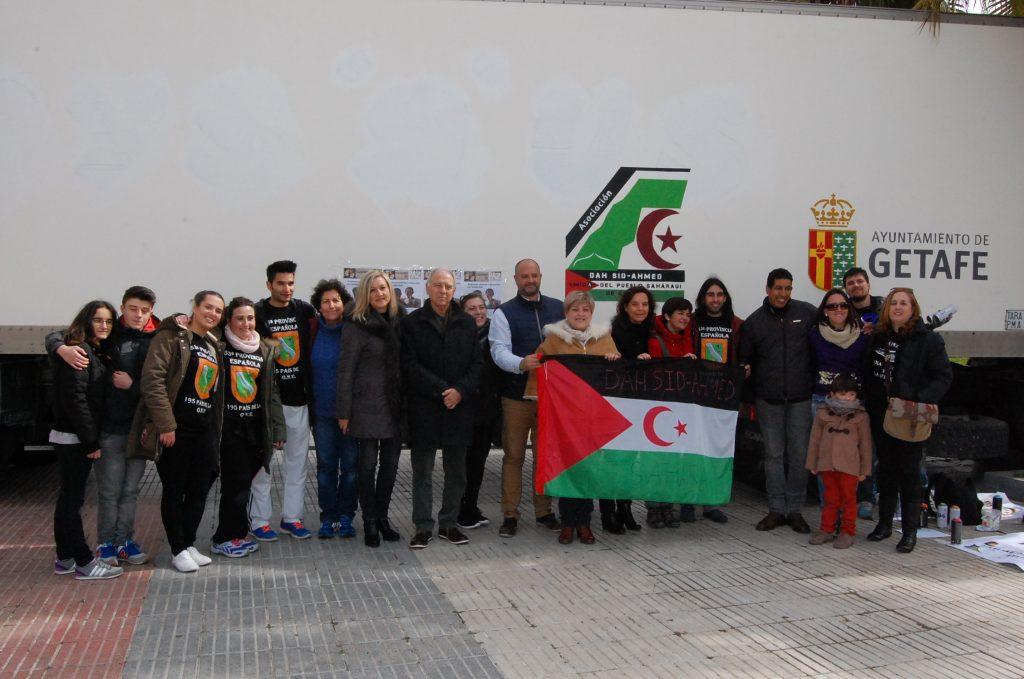 Getafe envía 20 toneladas de ayuda humanitaria para los refugiados saharauis
