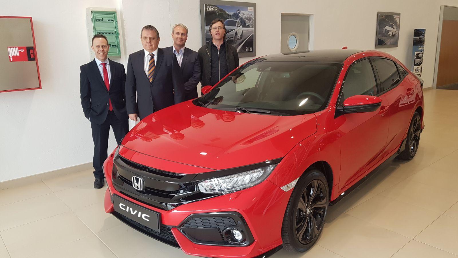 Agritrasa Automoción presentó el Nuevo Honda Civic 5 puertas