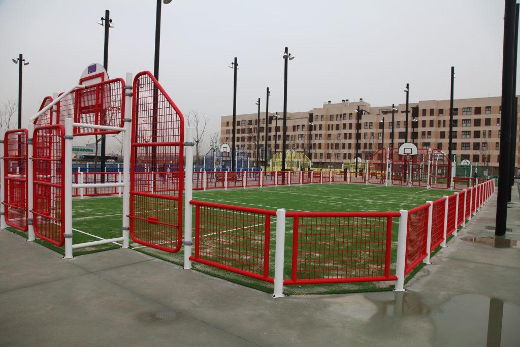 Las nuevas pistas deportivas de Los Molinos ya están disponibles