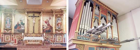 Interior Iglesia de Ntra. Señora de la Asunción, de Móstoles
