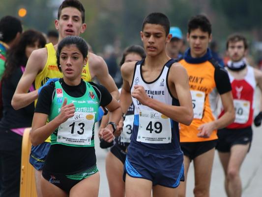 Lidia Sánchez-Puebla en el Trofeo de Marcha en Ruta A.D. Cerro Buenavista