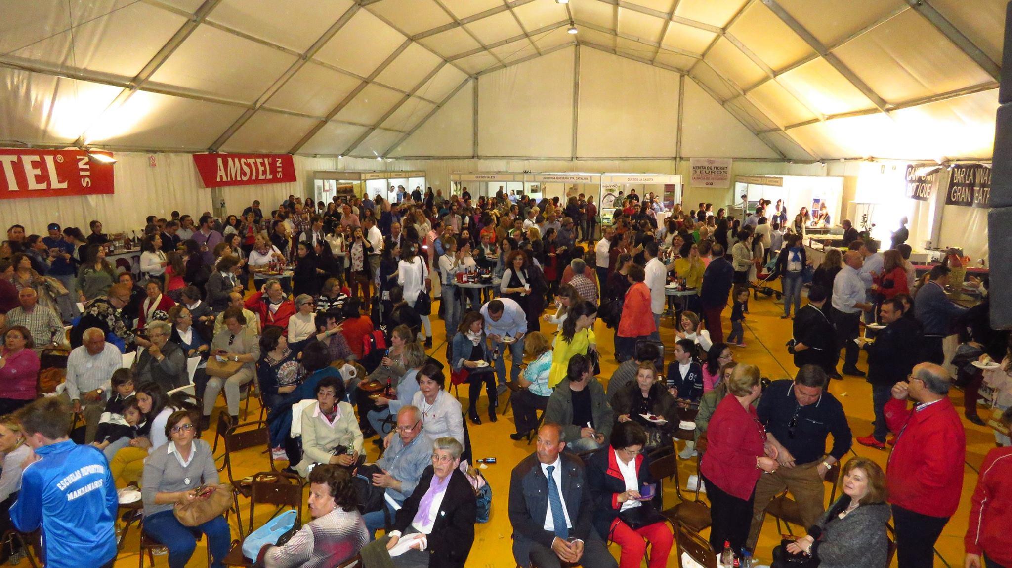 """Más de 3.000 visitantes disfrutaron de los """"Sabores del Quijote"""" en Manzanares"""