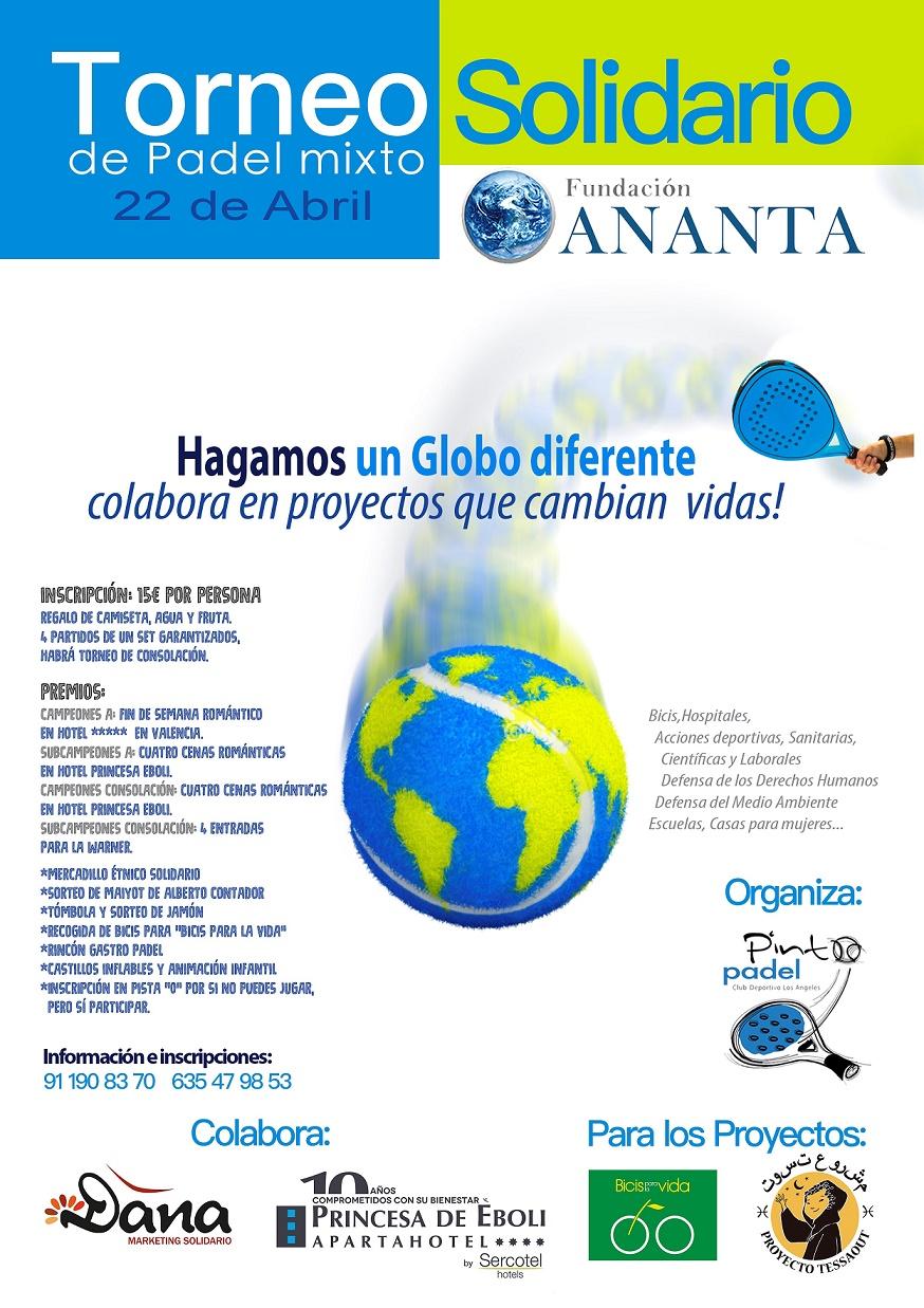 Torneo Solidario de Pádel Fundación Ananta