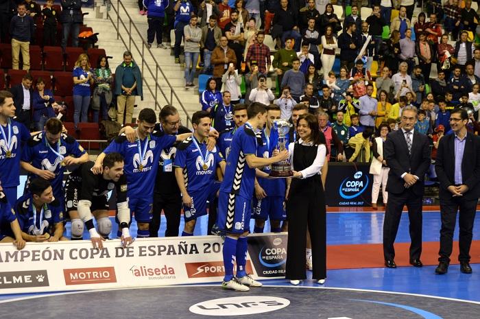 El Inter Movistar gana la XXVIII Copa de España de Fútbol Sala Ciudad Real 2017