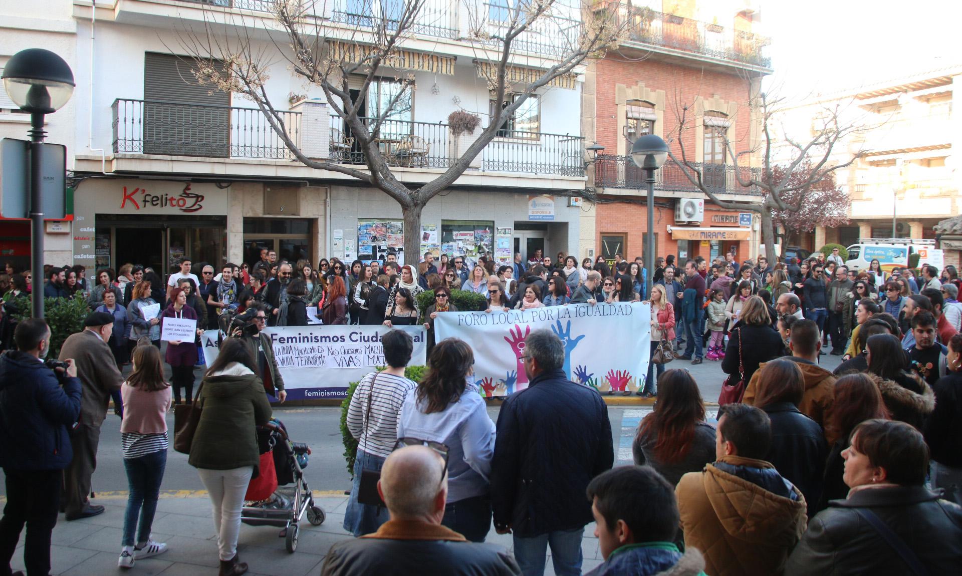 Miguelturra muestra su rechazo a la agresión sexual a mujeres