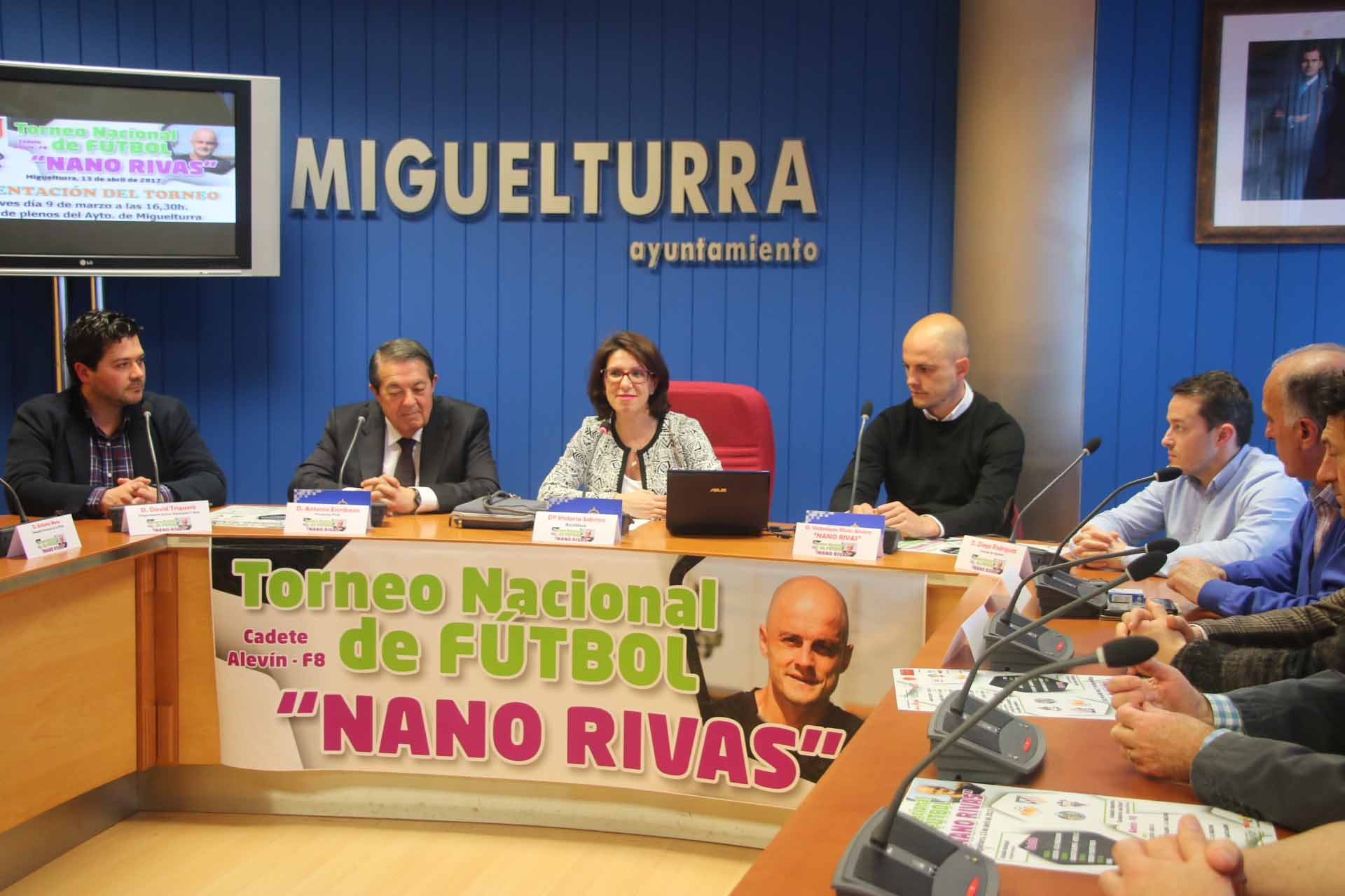 Miguelturra acogerá el 13 de abril el Torneo Nacional de Fútbol «Nano Rivas»
