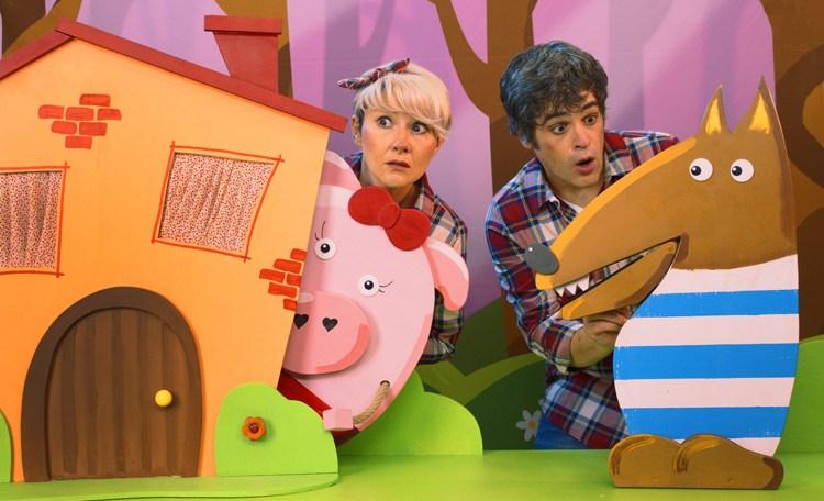 Pinky, Ponky y Punky estarán el domingo en el teatro Ayala de Daimiel