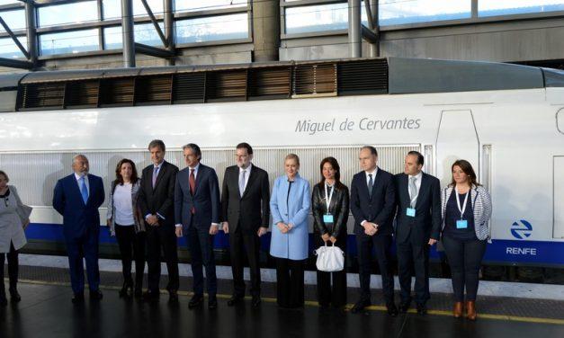 """Pilar Zamora: """"Tenemos que seguir trabajando en la potencialidad que tiene el AVE para Ciudad Real"""""""