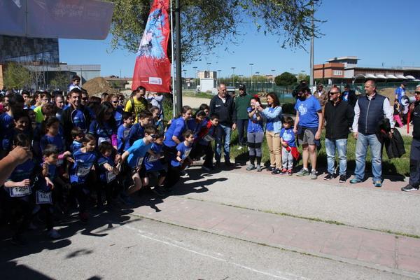 Más de 1.800 corredores participaron en Getafe en la '6ª Carrera Solidaria a favor del autismo de AFANYA'