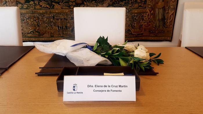 El presidente de Castilla-La Mancha y el Consejo de Gobierno trasladan su pesar y sus condolencias por el triste fallecimiento de Elena de la Cruz