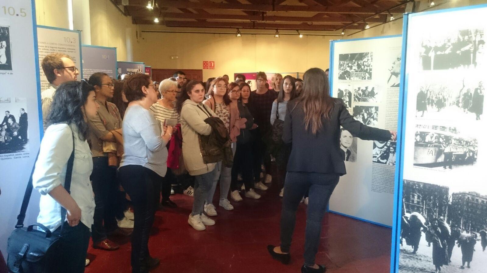 Inaugurada en Ciudad Real la Exposición sobre el Voto Femenino en España