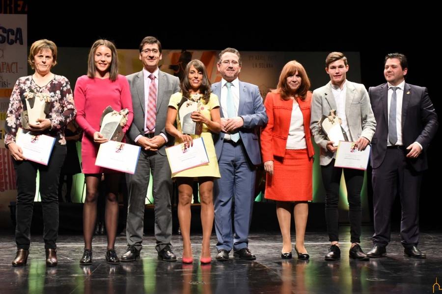 La Diputación premia a los mejores deportistas de 2016 de la provincia de Ciudad Real