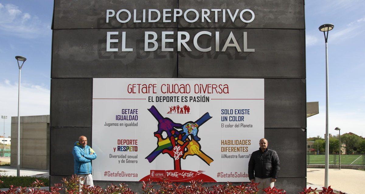 La delegación de Deportes pone en marcha la campaña 'Getafe Ciudad Diversa'