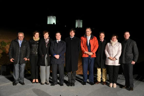 El Gobierno regional instalará iluminación artística en todos los molinos de viento de Castilla-La Mancha como reclamo turístico