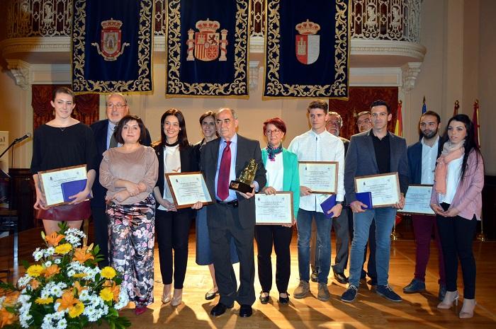 Entregados los premios del Patronato Municipal de Deportes 2016