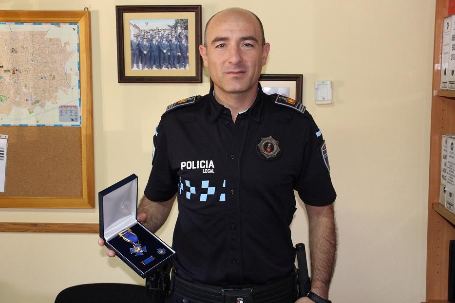 Antonio Velasco, medalla al mérito policial: 'Hice lo que tenía que hacer'