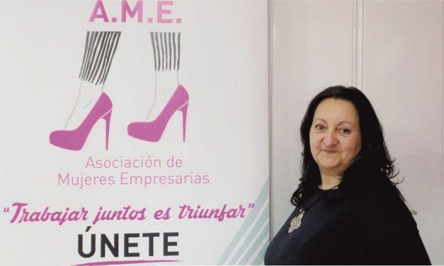 Beatriz García, presidenta de la Asociación Mujeres Empresarias de Getafe (AMEG)