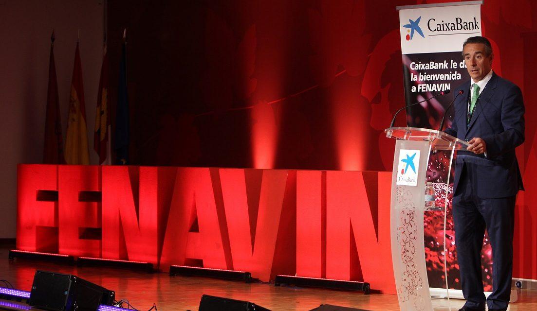 La visita del director general de CaixaBank a FENAVIN 2017 pone el colofón a una fructífera colaboración con la Feria
