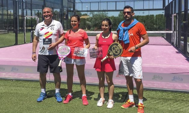 """El club de pádel La Sede celebra el torneo """"Divina Pastora"""" en Manzanares"""