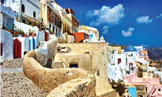 Creta, el azul y el blanco