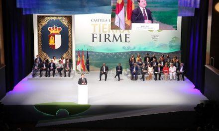 """El presidente García-Page reclama una región donde primen """"el diálogo, la limpieza y el ansia de crecer"""" y augura buenos años para esta tierra"""
