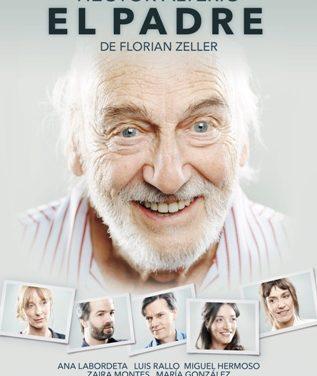 La obra de teatro 'El padre' protagonizada por Héctor Alterio llega al Teatro Federico García Lorca