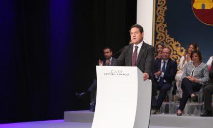 El presidente García-Page expresa al Gobierno central su lealtad y la de toda Castilla-La Mancha para defender la unidad de España