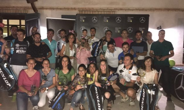 Las parejas formadas por Espinosa / Noblejas y Camacho / Sánchez vencen en el Torneo Autotrak de Pádel
