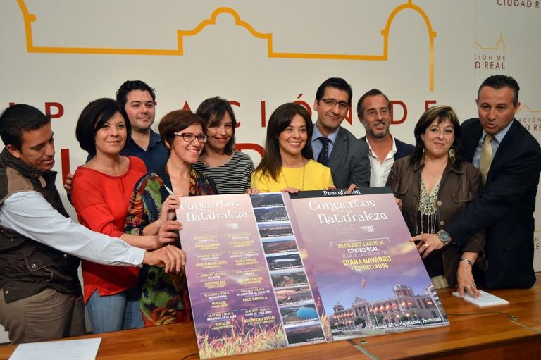 """Diana Navarro inaugura en Ciudad Real los """"Conciertos en la Naturaleza"""" organizados por la Diputación"""