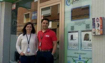 PcFirst se traslada a Trinidad, 16, de Alcázar, e incorpora un rápido servicio de venta y entrega